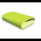Kunststoff-Kanalsysteme in grün